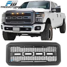 Fits 11-16 Ford F250 F350 Super Duty New Raptor Style Front Bumper Grille ABS