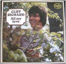 Cliff Richard, All my love, VG/VG,  LP (3081)