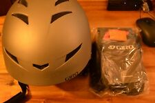 Boxed Giro Encore 2 Matt Titanium Ski Snowboard bike helmet size M 55.5-59cm