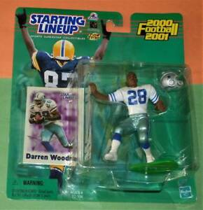 2000 DARREN WOODSON Dallas Cowboys Rookie *0 s/h hobby exclusive Starting Lineup