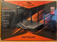 Netgear Nighthawk Pro Gaming Wi-Fi Router XR500 AC2600 Dual-Band New Sealed