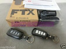Compustar 2‐Way RF-FTX2400-SS FTX RF Kit with 4000' Range 4 Button SS Remote Kit