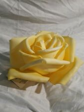 "4.5x7"" Polystyrene Ashland Artificial Fake Rose Collectible Home Office Decor"