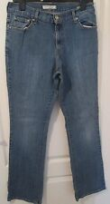 Preowned Ladies Modern LEVI 550 Relaxed Bootcut Blue Jeans Size W30 x L33  (F16)