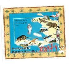 Haiti 1999 Animal Wildlife Stamp Souvenir Sheet - MNH