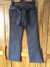 Gap girls cotton trousers dark grey age 6 NWOT
