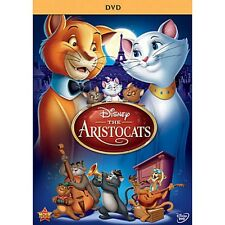 Disney The Aristocats Paris Aristocrat French Cats Animated Family Movie on DVD