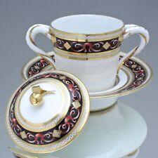 Paris, Clignancourt um 1795: Tasse Trembleuse, Directoire, Deckeltasse, cup Gold