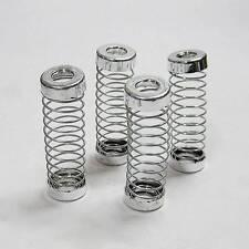 4 Stück flexibel Sitze Kopfstütze Einsteller Feder silber für vechicles
