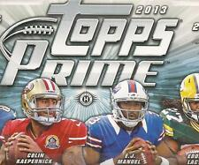 2013 Topps Prime Football 150 Card Complete Base and Rookie Set with pack