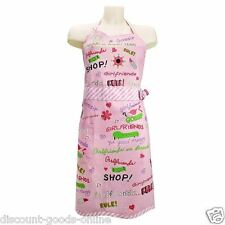 LOLITA UNQUE GIRLFRIENDS RULE COOKING APRON NOVELTY KITCHEN APRON GREAT GIFT