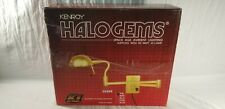 Kenroy Halogems Halogen Wall Mounted Swing Arm Light Lamp 20898 Polished Brass