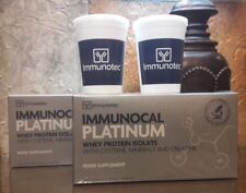 IMMUNOCAL PLATINUM by IMMUNOTEC 30Pk ea. (2 BOXES) SHAKER CUPS  FREE SHIPPING