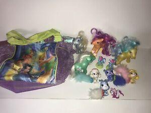 Hasbro My Little Pony Princess Palace Pets Disney Tinkerbell Bag Lot of 10