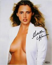 Estella Warren Signed 8x10 Photo Victoria Secret Model Beauty & The Beast J