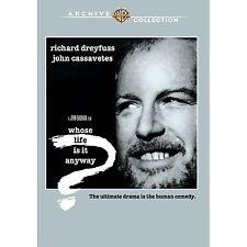 Whose Life Is It Anyway - DVD - 1981 Richard Dreyfuss, John Cassavetes (MOD)