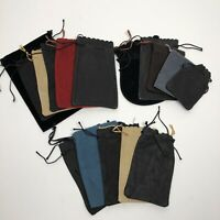 Vintage Draw String Bag Pouch for dice Dungeons & Dragons Chessex- Lot of 15
