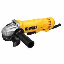 "DEWALT DWE402 4-1/2"" Switch Angle Grinder Plus 5 Grinding Wheels"