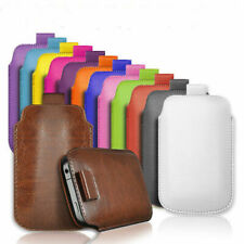 PULL TAB PU LEATHER POUCH  COVER CASE *only* fits HONOR 10 Lite