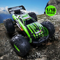 RC Car Offroad Truck Kids 2.4GHz Remote Control Racing Monstertruck Rechargeable