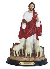 "10"" Inch Jesus Christ Good Sheperd Statue Figurine Shepherd Religious Catholic"