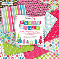 DOVECRAFT MERRY MAGIC - 48 X 8 X 8 DOCUMENTI-GRANDE FOR CARTE/ARTIGIANATO