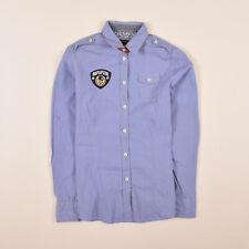 Napapijri Damen Hemd Shirt Gr.XS (DE 34) Freizeithemd Gestreift Blau 76904