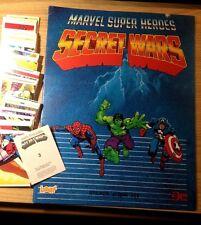 Evado mancoliste figurine SECRET WARS  Ed. Leaf Marvel 1984