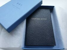 Chopard Smythson Notes Ltd Edition Black Notebook
