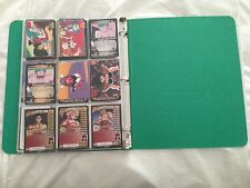Dragon Ball Z DBZ Mixed Card Lot of 174 in Binder Holos, Foils, Rares, Promo