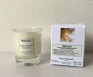 BNIB Maison Martin Margiela Replica Lazy Sunday Morning 35g Mini Scented Candle