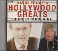 David Frost's Hollywood Greats Shirley Maclaine CD Audio Interviews Radio 2