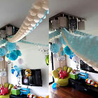 New 3.6m Hang Tissue Paper Clover garland Wedding Birthday Party Home Decoration