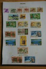 Malawi 1964 Definitives f/u