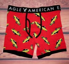 MENS AMERICAN EAGLE CARS RED BOXER BRIEF XL (40/42)