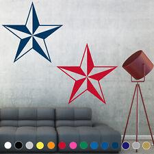 Nautical Star Decal Sticker Lone Barn Star Navy Wall Art Room House Decor