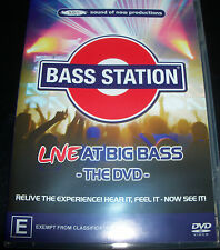 Bass Station Live At Big Bass The DVD (All Region) Australian DVD - Jason Midro