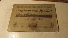1907 Scenes at the Jamestown Exposition Booklet