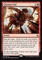 Glorious End x4 Magic the Gathering 4x Amonkhet mtg card lot