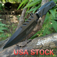 10.6in Fixed Blade Knife with 4.7in Blade POM Handle Survival Camping Bushcraft