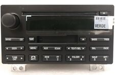 Lincoln Aviator 04-05 CD Cassette MP3 radio. OEM factory original stereo