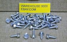 50 License Plate Fasteners Screws Auveco  #11369 Ford Car Truck Auto General use
