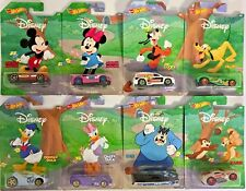 Hot Wheels 2019 Disney Mickey Mouse Set #GBB43 1:64 Scale Diecast (Set of 8)