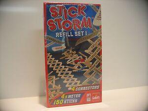 Stick Storm, Refill Set 1, mit zubehör 4,5 meter,Goliath Domino 80518 NEU in OVP