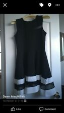 womans dresse , skater style , midi length , size 12 , worn once