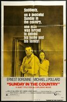 SUNDAY IN THE COUNTRY Ernest Borgnine ORIGINAL 1974 FF One Sheet Movie Poster