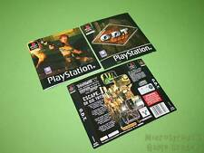 Playstation PS1 Instruction Manual & Artworks - ODT Or Die Trying *No Game*