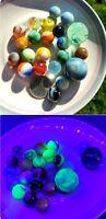 Vintage Peltier Vitro Akro Jabo mixed Marbles Lot 2 Shooter and 18 peewees