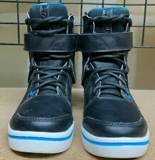 HYPERLITE PROCESS WAKE BOOTS – COLOR: BLK/BLUE – SIZE: 7/8 -- USED!!!