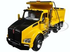 KENWORTH T880 DUMP TRUCK YELLOW 1/50 DIECAST MODEL BY FIRST GEAR 50-3354